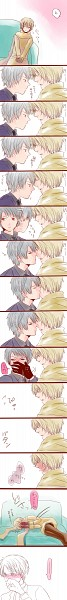 Tags: Anime, Axis Powers: Hetalia, Prussia, Russia, Confused, Pixiv, Comic, Soviet Union, Allied Forces