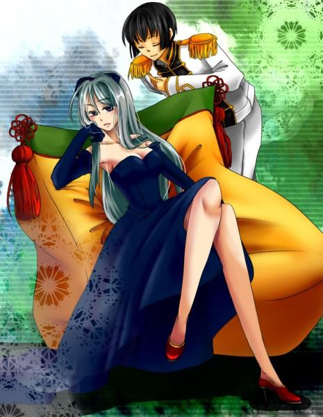 Tags: Anime, Kuseayumi, Axis Powers: Hetalia, Japan, Belarus, Pixiv