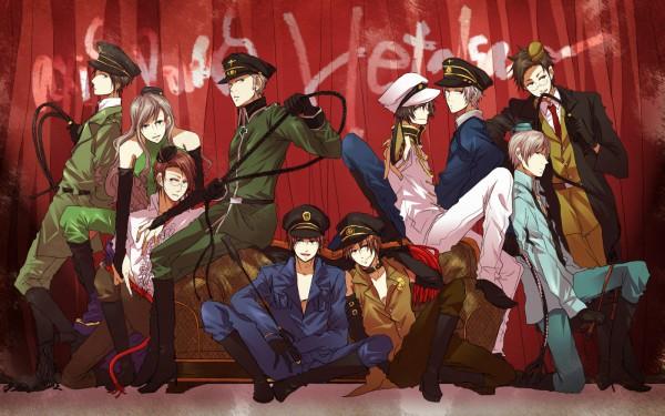 Tags: Anime, Oh Sawa, Axis Powers: Hetalia, Hungary, Greece, Austria, Japan, Iceland, Germany, South Italy, North Italy, Thailand, Finland
