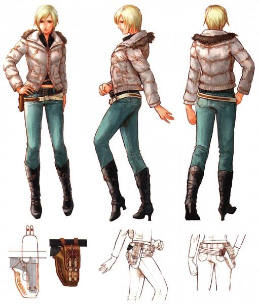Tags: Anime, 3rd Birthday, Aya Brea, Sketch