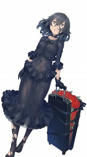 Tags: Anime, Ayaki, Suitcase, PNG Conversion, Original