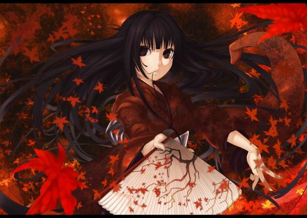 Tags: Anime, Ayaki, Leaf (Studio), Pixiv, Original