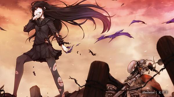 Tags: Anime, Ayakura Juu, Facebook Cover, Pixiv, Original