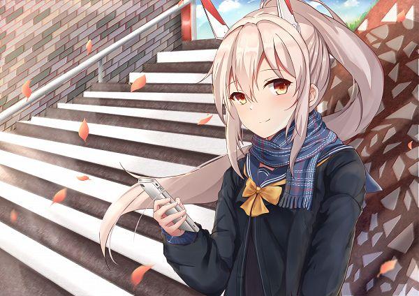 Tags: Anime, Pixiv Id 17560794, Azur Lane, Ayanami (Azur Lane), Fanart, Pixiv