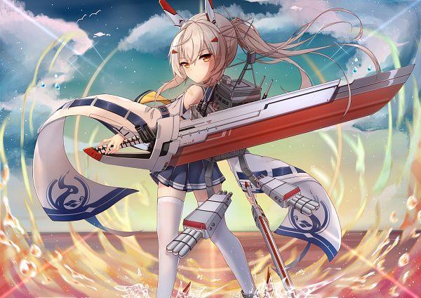 Tags: Anime, Pixiv Id 17560794, Azur Lane, Ayanami (Azur Lane), Retrofit (Azur Lane)