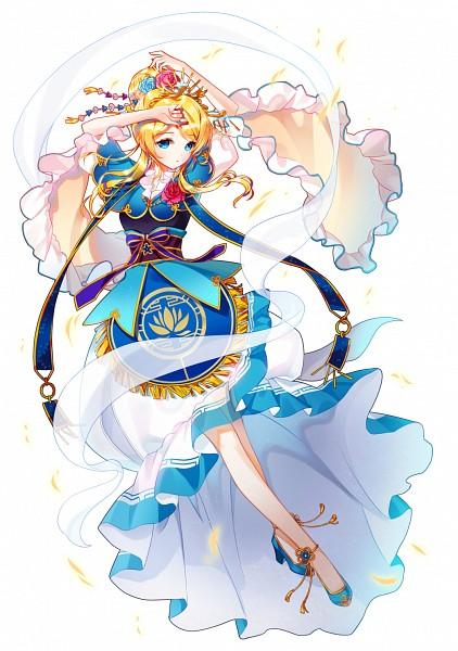 Tags: Anime, Rarumi, Love Live!, Ayase Eri, Pixiv, Fanart From Pixiv, Fanart, PNG Conversion, Mobile Wallpaper