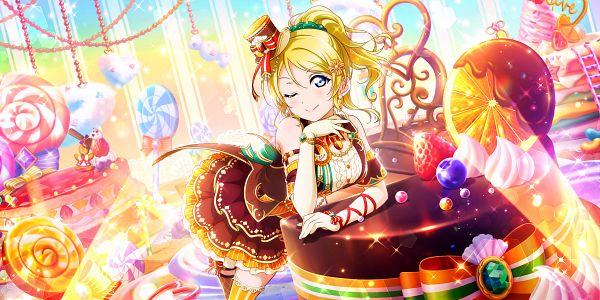 Tags: Anime, KLab, Love Live!, Love Live! School Idol Festival ALL STARS, Ayase Eri, Official Card Illustration, Official Art, Eli Ayase