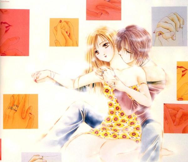 Tags: Anime, Watase Yuu, Ayashi no Ceres, Mikage Aya, Tooya (Ayashi no Ceres), Official Art