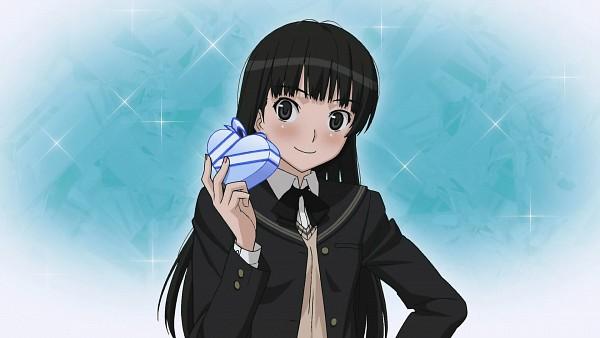 Tags: Anime, Amagami, Ayatsuji Tsukasa, Chocolate Box, Heart Box, Wallpaper, Official Art, HD Wallpaper