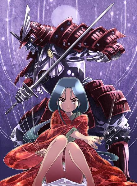 Tags: Anime, Kouno Hikaru, Karakuri no Kimi, Ayawatari Rangiku, Pixiv, Fanart