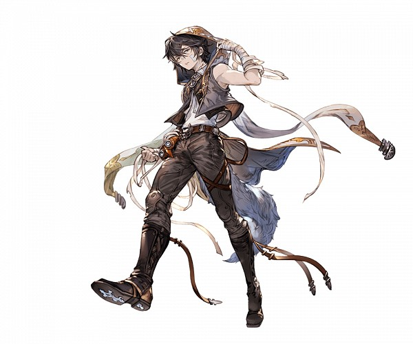 Tags: Anime, Minaba Hideo, Cygames, Granblue Fantasy, Ayer (Granblue Fantasy), Bandaged Cheek, Patch On The Nose, PNG Conversion, Official Art, Cover Image