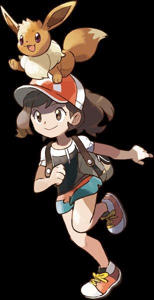 Ayumi (Pokémon: Let's Go Pikachu! & Let's Go Eevee) (Elaine (pokémon: Let's Go Pikachu! & Let's Go Eevee)) - Pokémon: Let's Go Pikachu! & Let's Go Eevee!