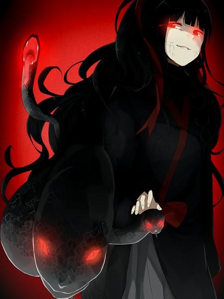 Tags: Anime, Keshitsubu, Kagerou Project, Azami (Kagerou Project), Scales Skin, Medusa, Pixiv