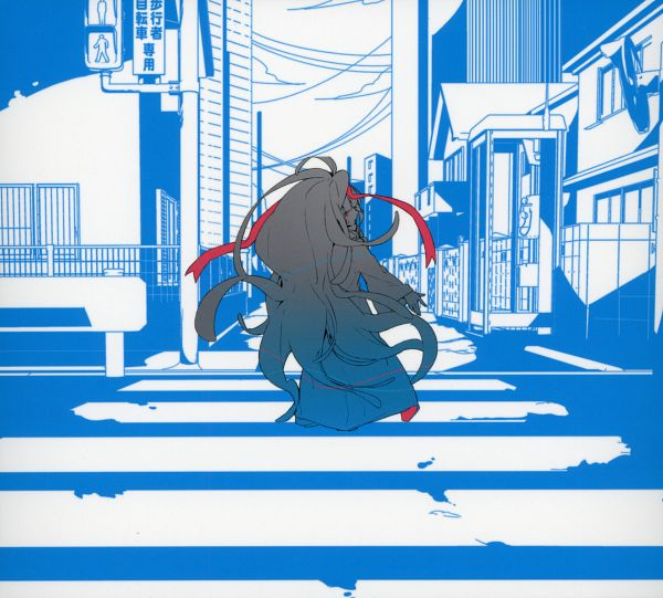 Tags: Anime, Shaft (Studio), Kagerou Project, Azami (Kagerou Project), Official Art, Scan, CD (Source)