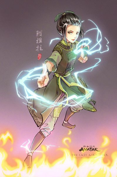 Tags: Anime, Kellylee, Avatar: The Last Airbender, Azula, Pixiv, Mobile Wallpaper, Fanart