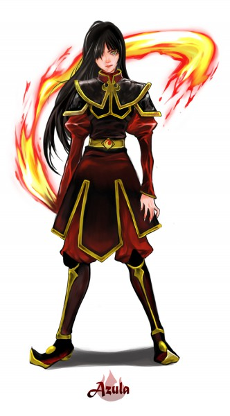 Tags: Anime, Mokking, Avatar: The Last Airbender, Azula, Mobile Wallpaper