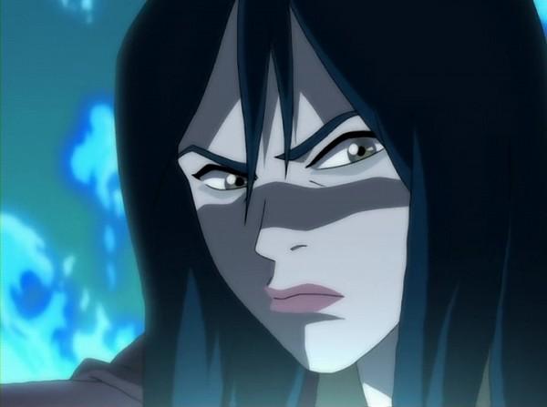 Tags: Anime, Avatar: The Last Airbender, Azula, Glaring, Screenshot