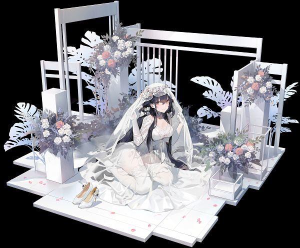 Tags: Anime, Kishiyo, Yostar, Azur Lane, Azuma (Azur Lane), Official Art, Lily-White Longing