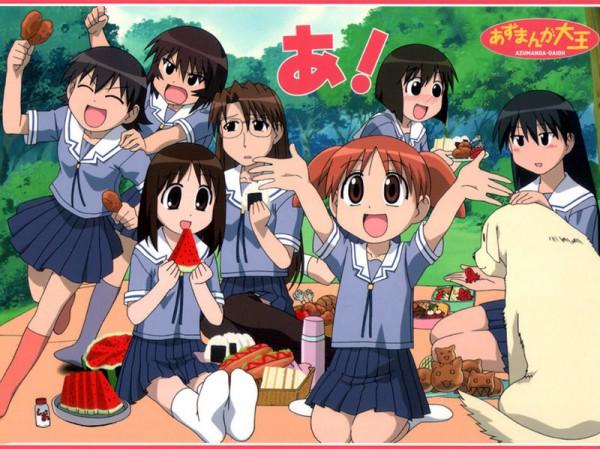 Tags: Anime, J.C.STAFF, Azumanga Daioh, Mizuhara
