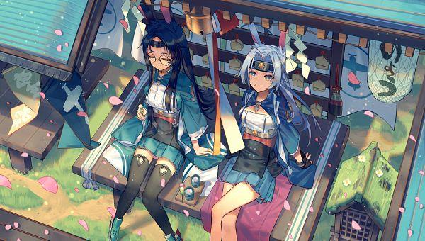 Tags: Anime, NoriZC, Azur Lane, Souryuu (Azur Lane), Hiryuu (Azur Lane), Wallpaper, Fanart, Fanart From Pixiv, Pixiv