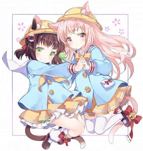 Tags: Anime, Pixiv Id 11290531, Azur Lane, Mutsuki (Azur Lane), Kisaragi (Azur Lane)