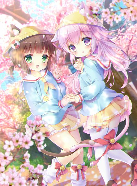 Tags: Anime, Pixiv Id 31027429, Azur Lane, Mutsuki (Azur Lane), Kisaragi (Azur Lane)