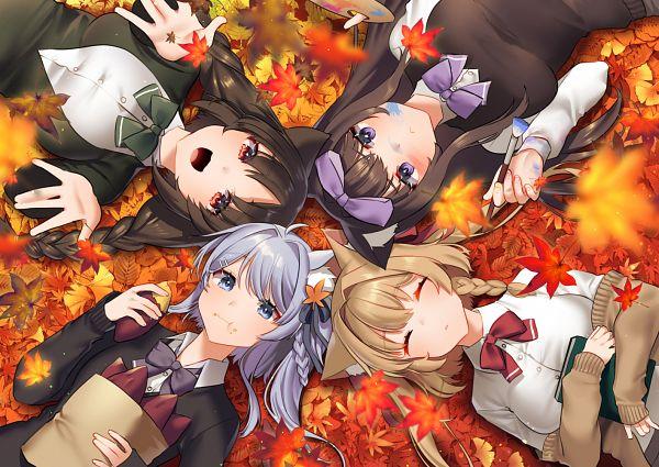 Tags: Anime, Pixiv Id 1735287, Azur Lane, Michishio (Azur Lane), Arashio (Azur Lane), Ooshio (Azur Lane), Asashio (Azur Lane), Azur Lane Iracon -Bokou to Kanojotachi no Aki-, Pixiv
