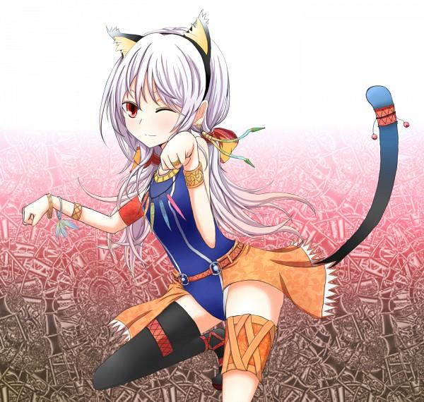 Tags: Anime, Azure Luna, Pixiv, Original