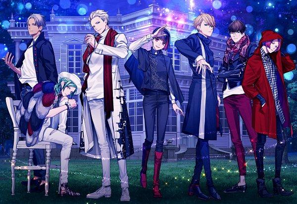 Tags: Anime, Yukihiro Utako, MAGES., B-Project, Nome Tatsuhiro, Sekimura Mikado, Masunaga Kazuna, Korekuni Ryuuji, Onzai Momotaro, Kitakado Tomohisa, Osari Hikaru, Self Hug, Mansion