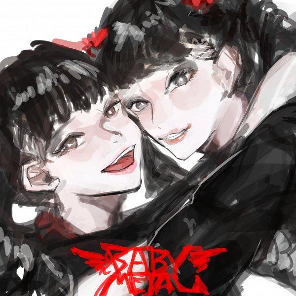 Tags: Anime, Pixiv Id 18548063, Mizuno Yui, Kikuchi Moa, Fanart From Pixiv, Pixiv, Fanart, BABYMETAL
