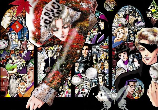 Tags: Anime, BASARA (Tamura Yumi), Kikune, Taro (Legend Of Basara), Asagi (BASARA), Hida no Ichimatsu, Ageha (BASARA), Hiragi (BASARA), Kagero (BASARA), Tamon, Ginko (BASARA), Legend Of Basara