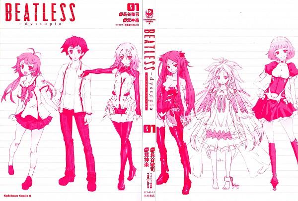 Tags: Anime, Uguisu Kagura, BEATLESS, SnowDrop (BEATLESS), Endo Yuka, Lacia, KOUKA, Endo Arato, Saturnus, Manga Color, Scan, hIE (BEATLESS)