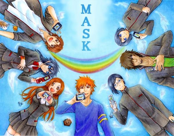 Tags: Anime, Pixiv Id 485470, BLEACH, Asano Keigo, Inoue Orihime, Kurosaki Ichigo, Arisawa Tatsuki, Ishida Uryuu, Kojima Mizuiro, Yasutora