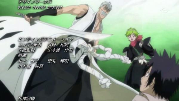Tags: Anime, Kubo Tite, BLEACH, Hisagi Shuuhei, Muguruma Kensei, Kuna Mashiro, Vizard, Gotei 13