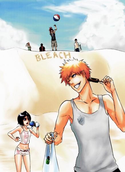 Tags: Anime, AFunny, BLEACH, Abarai Renji, Ishida Uryuu, Kurosaki Ichigo, Yasutora