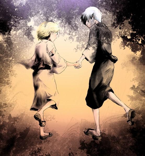 Tags: Anime, Pixiv Id 1911748, BLEACH, Matsumoto Rangiku, Ichimaru Gin, GinRan