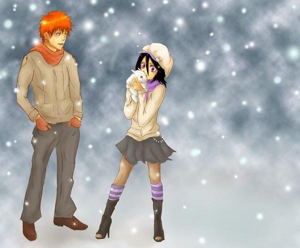 Tags: Anime, Norimiko, BLEACH, Kuchiki Rukia, Kurosaki Ichigo, IchiRuki
