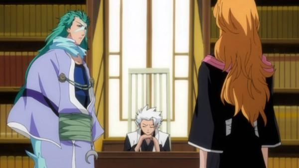 Tags: Anime, BLEACH, Hitsugaya Toushirou, Matsumoto Rangiku, Screenshot, Gotei 13