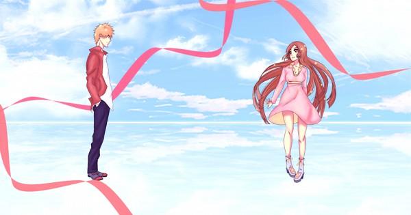 Tags: Anime, Rei-ami, BLEACH, Inoue Orihime, Kurosaki Ichigo, deviantART, Facebook Cover, Fanart From DeviantART, Fanart, IchiHime