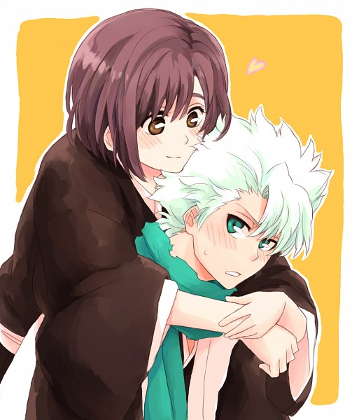 Tags: Anime, Pixiv Id 7688243, BLEACH, Hinamori Momo, Hitsugaya Toushirou