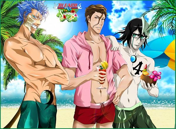 Tags: Anime, Queen-vegeta69, BLEACH, Aizen Sousuke, Grimmjow Jeagerjaques, Ulquiorra Schiffer