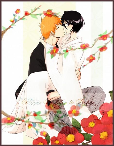 Tags: Anime, TIANA (Artist), BLEACH, Kuchiki Rukia, Kurosaki Ichigo, Japanese Wedding, Fanart From Pixiv, Fanart, Pixiv