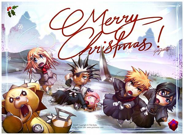 Tags: Anime, Yanimator, BLEACH, Kusajishi Yachiru, Kurosaki Ichigo, Inoue Orihime, Kon (BLEACH), Zaraki Kenpachi, Kuchiki Rukia, Stuffed Lion, Artist Request, Gotei 13, 11th Squad