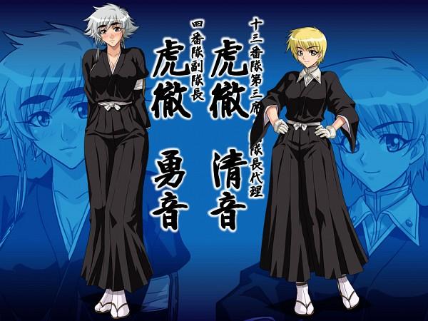 Tags: Anime, Kagami (Artist), BLEACH, Kotetsu Kiyone, Kotetsu Isane, Fanart, Wallpaper, Gotei 13, 4th Squad, 13th Squad