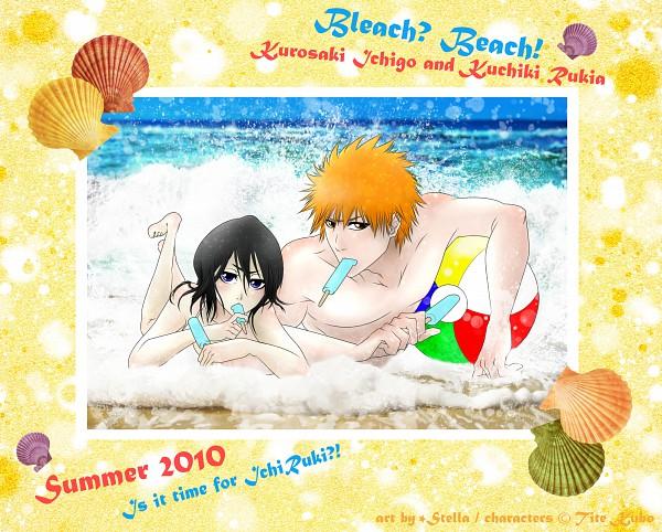 Tags: Anime, Kotik-stells, BLEACH, Kuchiki Rukia, Kurosaki Ichigo, Gotei 13