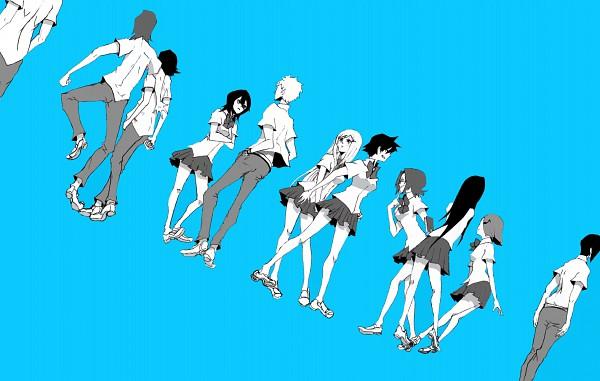 Tags: Anime, Crandom, BLEACH, Kojima Mizuiro, Kuchiki Rukia, Ogawa Michiru, Asano Keigo, Kurosaki Ichigo, Honshou Chizuru, Arisawa Tatsuki, Kunieda Ryou, Ishida Uryuu, Inoue Orihime
