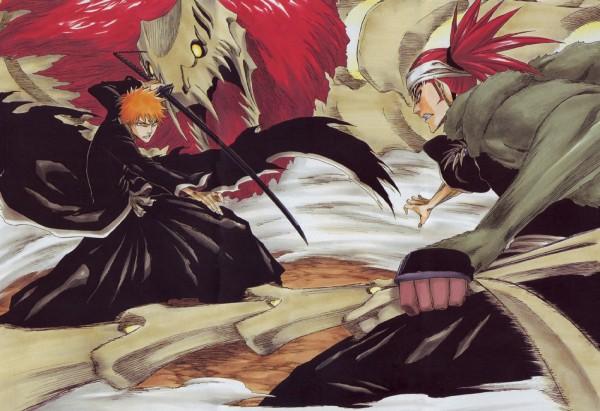 Tags: Anime, Kubo Tite, BLEACH, Kurosaki Ichigo, Zabimaru, Abarai Renji, Bankai, Zanpakutou, Gotei 13