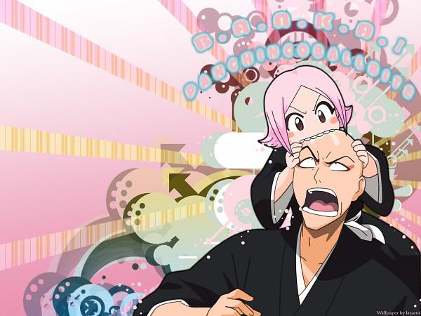 Tags: Anime, BLEACH, Madarame Ikkaku, Kusajishi Yachiru, Wallpaper, 11th Squad