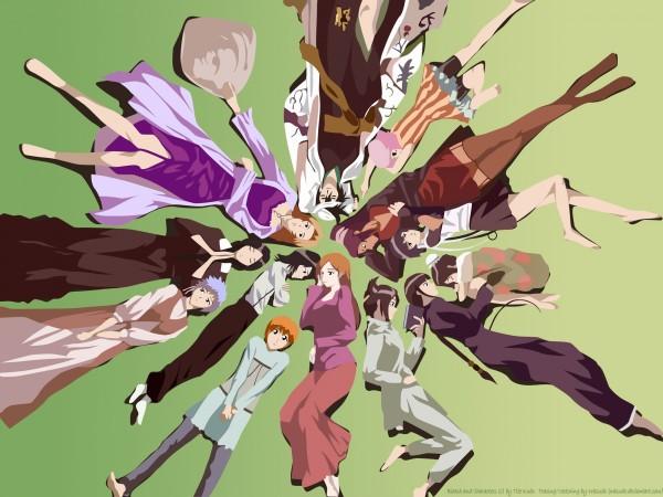 Tags: Anime, BLEACH, Matsumoto Rangiku, Ise Nanao, Kuchiki Rukia, Shiba Kukaku, Inoue Orihime, Hinamori Momo, Kusajishi Yachiru, Kotetsu Kiyone, Unohana Retsu, Kotetsu Isane, Shihouin Yoruichi