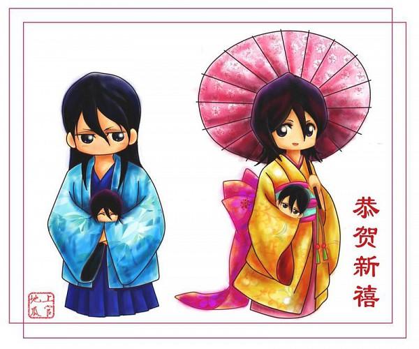Tags: Anime, BLEACH, Kuchiki Byakuya, Kuchiki Rukia, ByaRuki